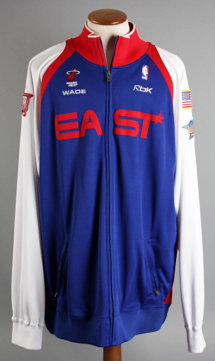2006 Dwayne Wade All-Star Game Jacket - COA 100% Team