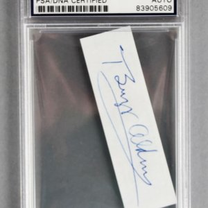 NASA Astronaut - Buzz Aldrin Signed Cut - PSA/DNA