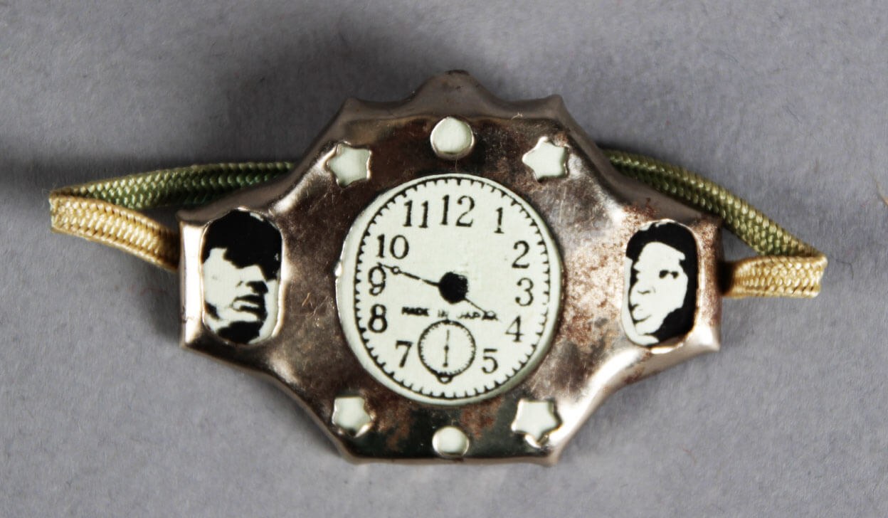 1950's Ted Williams & Mays Novelty Toy Watch Premium Gumball