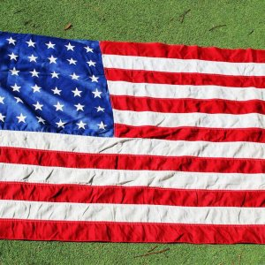 1912-1959 48-Star American Flag 32x54 Valley Forge Flag Co.
