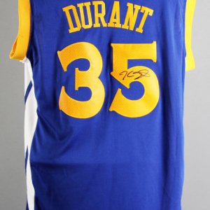 Kevin Durant Signed Golden State Warriors Jersey - JSA