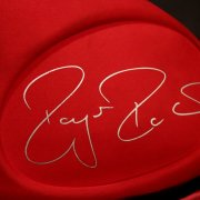 A Roger Federer Game-Used Custom Wilson Tennis Racquet Bag.  2013 Wimbledon Championships.