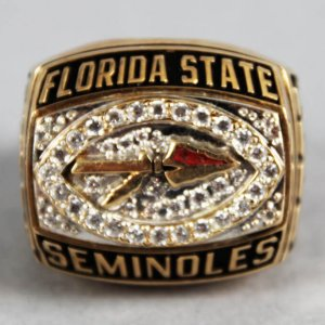 2001 Florida State Seminoles Orange Bowl Ring 10K Gold