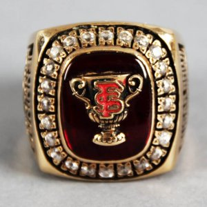 2000 Florida State Seminoles National Championship Ring 10K Gold (Sugar Bowl)