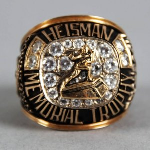 1963 Roger Staubach Heisman Memorial Trophy Salesman Sample Ring 14K Gold