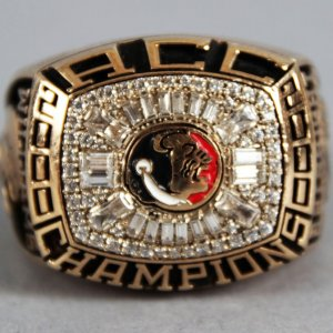 2000 Florida State Seminoles ACC Champions 10K Gold Ring - Todd Williams (Salesman Sample)