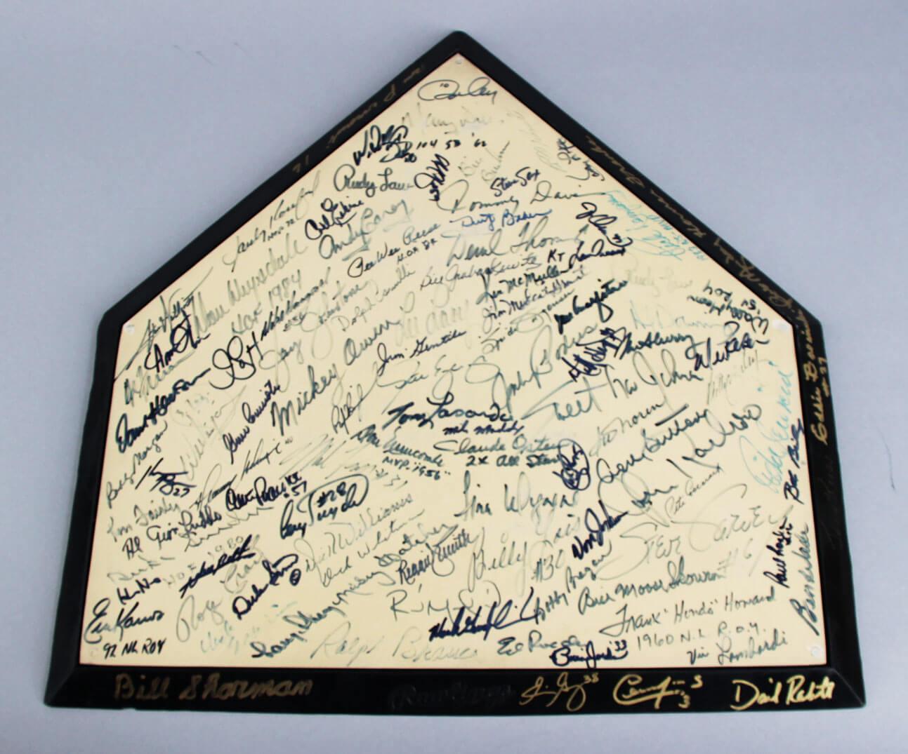 Pleasant Brooklyn Los Angeles Dodgers Hofers Stars Multi Signed Home Plate 100 Sigs Sandy Koufax Jsa Download Free Architecture Designs Rallybritishbridgeorg