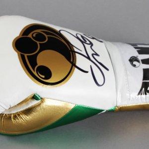 Floyd Mayweather Jr. Signed Boxing Glove - COA JSA