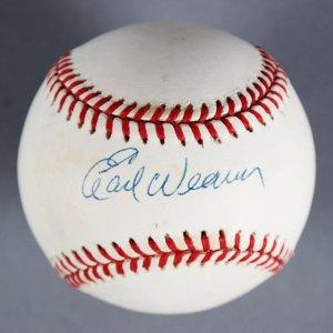 Earl Weaver Baltimore Orioles Manager Signed Baseball - COA TriStar