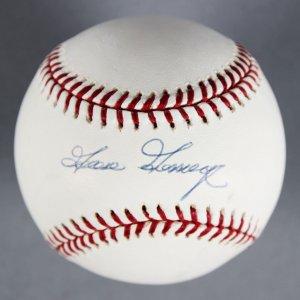 Goose Gossage New York Yankees Signed Baseball - COA MLB & Steiner