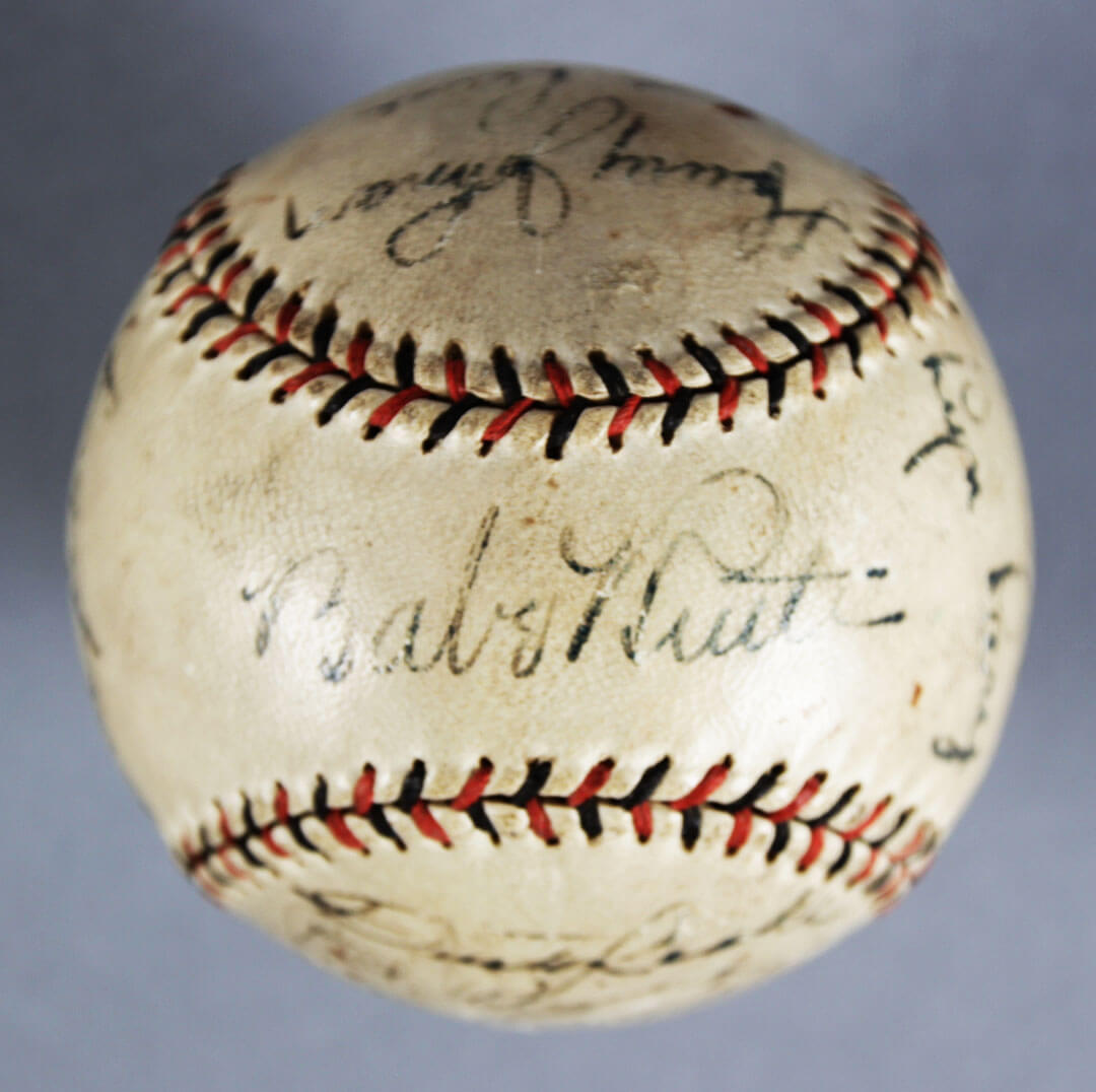 1931 Yankees Team-Signed Baseball - Babe Ruth, Lou Gehrig, Tony Lazzeri, etc. - JSA Full LOA