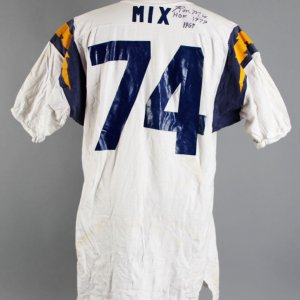 1960's Ron Mix Game-Worn, Signed Twice San Diego Chargers Jersey - 100% Team Grade 20/20 & Player LOA