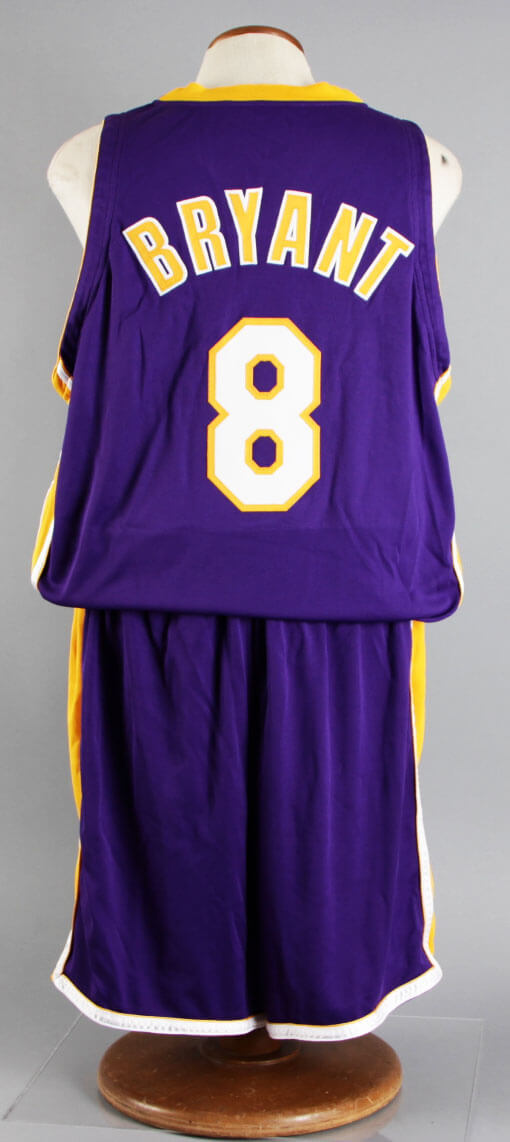 be76ebcce 2001-02 Kobe Bryant Game-Worn Los Angeles Lakers Jersey – NBA Finals Uniform