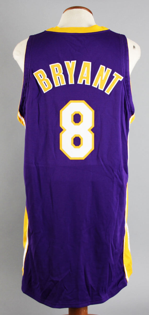 6430f541fe3 2001-02 Kobe Bryant Game-Worn Los Angeles Lakers Jersey – NBA Finals Uniform