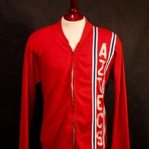 A George Best Game-Used LA Aztecs NASL Warm-Up Jacket.  (c 1976).
