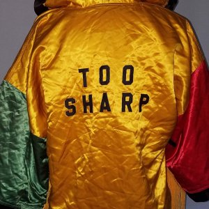 Mark Too Sharp Johnson Fight-Worn Boxing Robe Jacket COA 100% Team