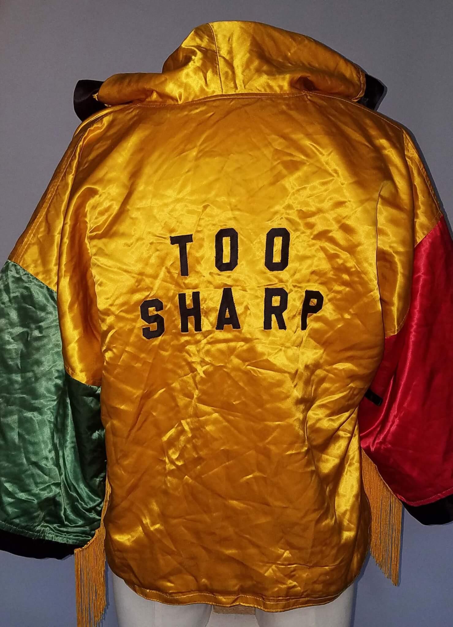 Mark Too Sharp Johnson Fight-Worn Boxing Robe Jacket COA 100% Team