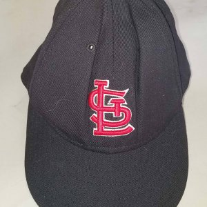 Mark McGwire St. Louis Cardinals #25 Game-Worn Cap COA 100% Authentic Team