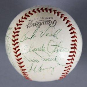 Multi-Signed Baseball - All Stars Ball Willie Stargell, Don Sutton  - JSA