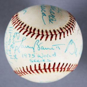 "MLB Multi-Signed Baseball - 11 Sigs. Incl. Harry Caray Insc. ""Holy Cow"" etc. - JSA"