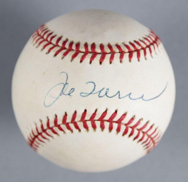 Joe Torre New York Yankees Signed Baseball - COA JSA