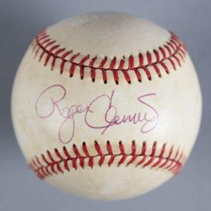 Roger Clemens Signed Baseball Red Sox - COA JSA