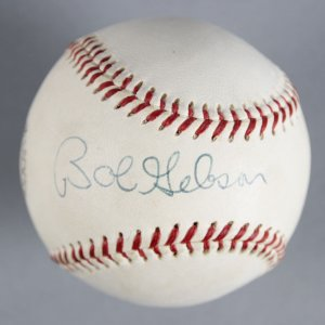 Bob Gibson St. Louis Cardinals Signed Baseball - COA JSA