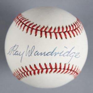 Ray Dandridge Newark Eagles Signed Baseball - COA JSA