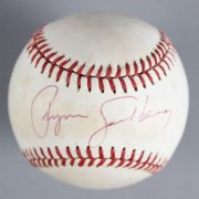 Ryne Sandberg Chicago Cubs Signed Baseball - COA JSA