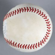 Ryne Sandberg Chicago Cubs Signed Baseball - COA JSA
