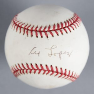 Al Lopez Chicago White Sox Signed Baseball - COA JSA