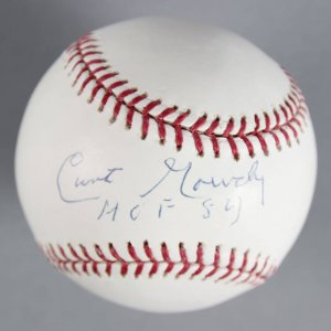 Curt Gowdy Boston Red Sox Sportscaster Signed Baseball - COA JSA