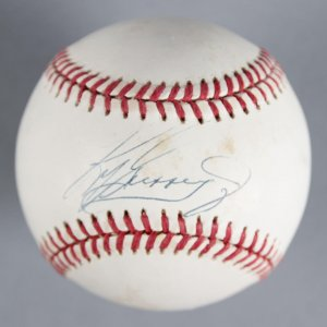 Ken Griffey, Jr. Seattle Mariners Signed Baseball - COA JSA