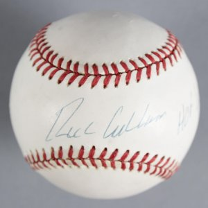 Richie Ashburn Philadelphia Phillies Signed Baseball - COA JSA