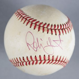 Robin Yount Milwaukee Brewers Signed Baseball - COA JSA