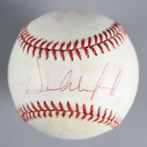Dave Winfield New York Yankees Signed Baseball - COA JSA