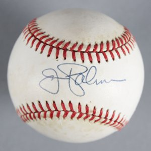 Jim Palmer Baltimore Orioles Signed Baseball - COA JSA
