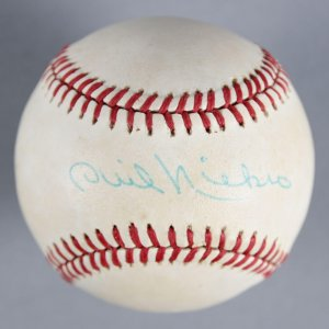 Phil Niekro Atlanta Braves Signed Baseball - COA JSA