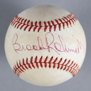 Brooks Robinson Baltimore Orioles Signed Baseball - COA JSA