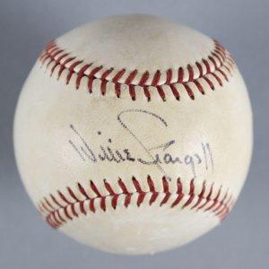 Willie Stargell Signed Baseball Pittsburgh Pirates (Feeney) COA JSA