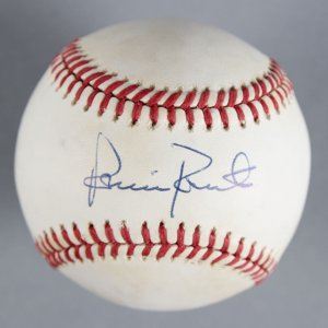 Robin Roberts Philadelphia Phillies Signed Baseball - COA JSA