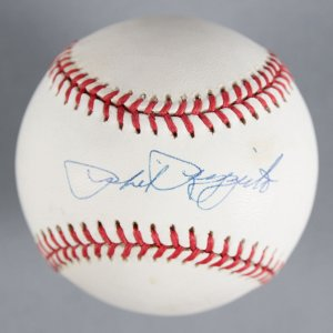 Phil Rizzuto New York Yankees Signed Baseball - COA JSA
