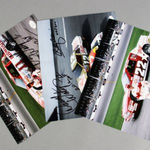 NASCAR - Darrell Waltrip & Bobby Allison Signed 8x10 Photos (3) - COA JSA