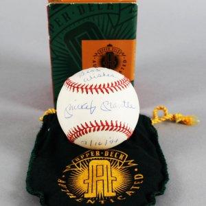Mickey Mantle New York Yankees Signed Baseball - JSA Full LOA & UDA