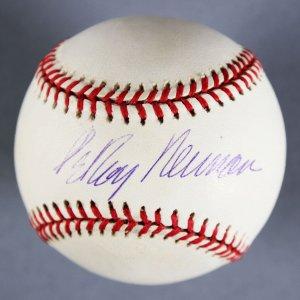 LeRoy Neiman Signed Baseball - JSA Full LOA