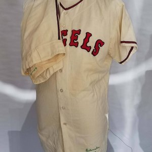 1963 Bo Belinsky Game-Worn Los Angeles Angels Uniform Flannel Jersey & Pants - COA 100% Authentic Team Graded 20/20