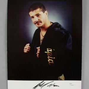 Johnny Tapia Signed 8x10 Boxing Photo - COA JSA