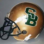 2000 Lorenzo Booker St. Bonaventure High School Game-Worn, Signed Helmet - COA 100% Team