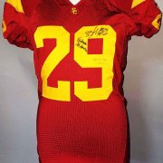 2006 Taylor Mays Game-Worn, Signed USC Trojans Jersey - COA 100% Team