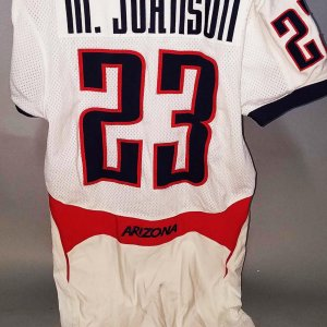 2005-06 Michael Johnson Game-Worn Arizona Wildcats Jersey - COA 100% Team